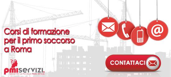 banner primo soccorso roma